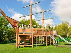 Los más pequeños tienen diversión asegurada en Asia Gardens.