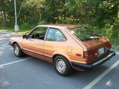 1980 Honda Accord-my first car, got it used in 1985, and I learned to drive a stick shift on it...