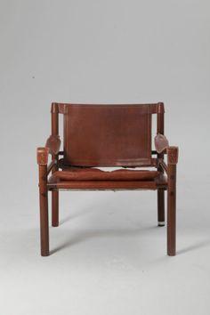 Rosewood Arne Norell Safari Chair