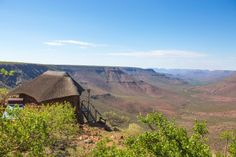 The view from one of the rooms at Grootberg Lodge. Photo: Andy Austin