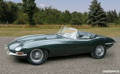 1967 Jaguar E-Type Series I Roadster - the dream car of my youth.