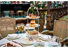 Afternoon Tea at The Savoy - London trip?