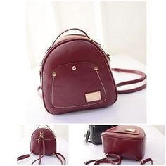 TAS IMPORT KODE: 1122  IDR.170.000  MATERIAL PU  SIZE L26-21CMXH26CMXW12CM  WEIGHT 700GR  COLOR RED
