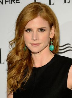 Sarah Rafferty- My daughter's preschool teacher told me today I looked like the redhead on Suits. I think I kind of do! :)