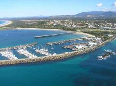 This small town is called Coffs Harbor. I will be staying with a family here for 2 days during the trip.