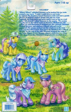 My Little Pony Big Brother Pony Backcard