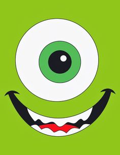 Monsters Inc Baby, Mike From Monsters Inc, Disney Monsters, Cartoon Monsters, Crazy Wallpaper, Funny Iphone Wallpaper, Cute Wallpaper Backgrounds, Cute Wallpapers, Baby Disney
