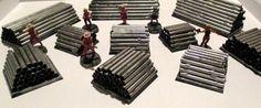 Simple pipe barricades - Forum - DakkaDakka | All hail the mighty Primarch Russ!
