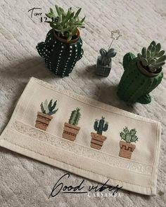 Embroidery Patterns, Cross Stitch Patterns, Cactus Cross Stitch, Creative Embroidery, Bargello, Cross Stitching, Needlework, Daisy, Homemade