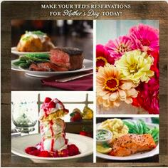 Give your mom a taste of the Big Sky and a day she won't forget! Call Ted's Montana Grill at The Forum and make your reservation for Mother's Day now!