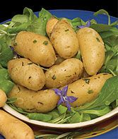 Potato, Swedish Peanut Fingerling  The best heirloom potato taste ever.  more info  Product Details  Sun: Full Sun   Sowing Method: Direct Sow   Days to Maturity: 90  days  Height: 18-24  inches