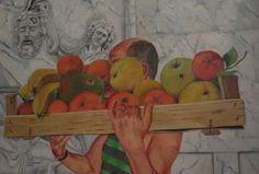 Angelo Lisci Pittore.// Figurativo Porto in studio soggetti da ritrarre.