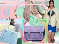 Key Materials, S/S 2015. Sweet Like Leather