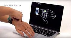 SkinTrack превратит кожу руки в тачпад для «умных» часов / Интересное в IT