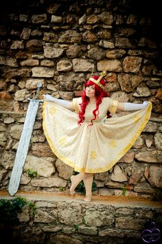 Aurora - Child of Light - Cosplay - Clumsy Curtsey by IchiCosplayArt on deviantART