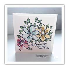 Garden in Bloom Birthday Card by Lindsey Richards, Stampin' Up! lindseyrichards.stampinup.net