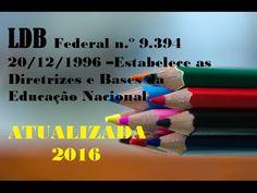 Lei Federal n.º 9.394, de 20/12/1996 Diretrizes e Bases da Educação Naci...