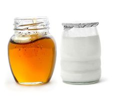 Plain yogurt with honey helps your face be less greasy, takes blackheads away, helps pimples and acne and makes your face shine! Apply plain yogurt and honey to your face(you can apply on how much you think is right). Wait  10-20 minutes and wash face thoroughly. Enjoy clean face!! :)