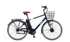 Ecoride Urban 8v 48cm (520Wh) Sininen | Larunpyörä | Polkupyörät - Hybridit, Cyclocrossit, Maastopyörät