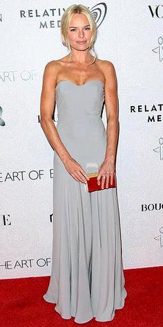 Kate Bosworth in grey