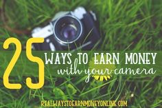 This page contains affiliate links. Regardless, I only recommend products and services I have researched and trust. Are you gifted with a camera? Images are always in demand! This page has a ton of ways you can earn money using your camera — even if all you have is a smartphone. And no, you don't …