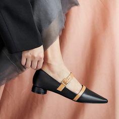 Femme Dames Slip On Mocassins Semelle Épaisse Flats Chaîne Tennis Escarpins Chaussures Taille