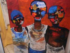 Artagence Peinture Cameroun - Max Lyonga