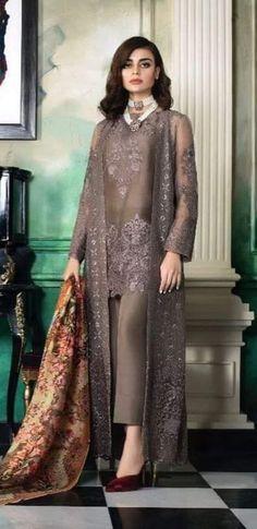Dress Brokat Coklat 51 Ideas For 2019 Pakistani Wedding Outfits, Pakistani Dresses, Indian Dresses, Indian Outfits, Spring Dresses Casual, Trendy Dresses, Nice Dresses, Asian Fashion, Hijab Fashion
