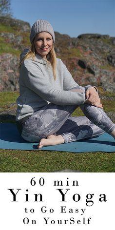60 min Yin Yoga to Go Easy On YourSelf | Yoga with Melissa 529