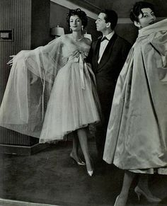 1958 Christian Dior cocktail dress