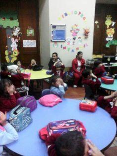 visita a la biblioteca municipal sede preescolar.