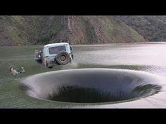 Giant Sinkhole Caught On Camera Dramatic Live Sinkhole Forming 2 - YouTube
