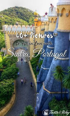 We've fallen in love with Sintra taking these pictures. Check them out and you will too! tasteontheway. Travel in Europe. #portugaltravel