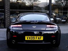 2009 Aston Martin Vantage 4.7 2-door hatchback. Onyx Black Metallic. Aston Martin service history. Click on pic shown for loads more.
