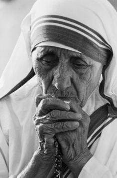 Mother Theresa awarded the Noble Peace Prize 1970s. Her beauty is beneath skin…