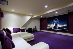 Awesome home theater furniture idea - 10 bedroom barn conversion for sale in Ightenhill Park Lane, Burnley - Rightmove