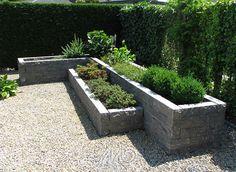 stapelblokken tuin - Google zoeken