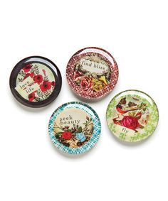 Take a look at this 'Seek Beauty' Magnet Set by DEMDACO on #zulily today!