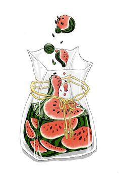 Cute Food Drawings, Cute Kawaii Drawings, Easy Drawings, Art Kawaii, Arte Do Kawaii, Moustache En Crocs, Aesthetic Art, Aesthetic Anime, Art Mignon