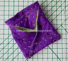 Creating my way to Success: Fabric Origami Bag - photo tutorial