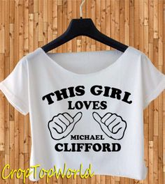 5 seconds of summer shirt 5 SOS shirt this girl by CropTopWorld, $17.00