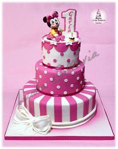 Baby Minnie's cake