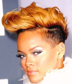 Fine Mohawk Hairstyles Mohawks And Mohawk Hairstyles For Women On Hairstyle Inspiration Daily Dogsangcom