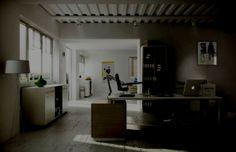 dozen home workspaces. Perfect Dozen Office U0026 WorkspaceWhite Colors Furnishing Work Desk Table Black Leather  Swivel Chairs A Dozen Home Workspaces Creative Workspace Idea Intended L