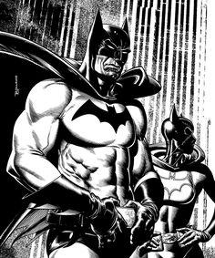 comicblah:  Batman: Gotham Knights #2 cover by Brian Bolland