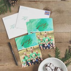 We got our Christmas cards sent out over the weekend so now we can spend the week relaxing and enjoying family time. Thanks to @minted for these beautiful cards!  If you didn't get a chance to send out cards yet this year Minted has gorgeous New Years cards too. I rounded up a few of my faves on the blog today! (link in profile)