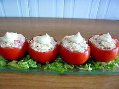 Receta Tomates rellenos, para Willyviajera - Petitchef