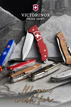This show your loved ones you care with quality to last a lifetime. Victorinox Swiss Army Knife, Victorinox Knives, Hiking Photography, Knife Art, Edc Gear, Home Security Systems, Hiking Gear, Knives And Swords, Knives