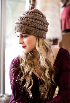 Shop Women s Clothing Accessories from Lotus Boutique featuring Beanies 7dd55794d914