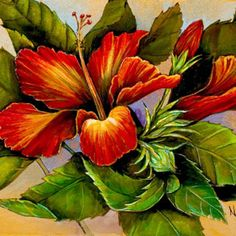 Tropical florals my passion...